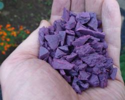 Garuda 100% wire free Lilac Rubber Chipping